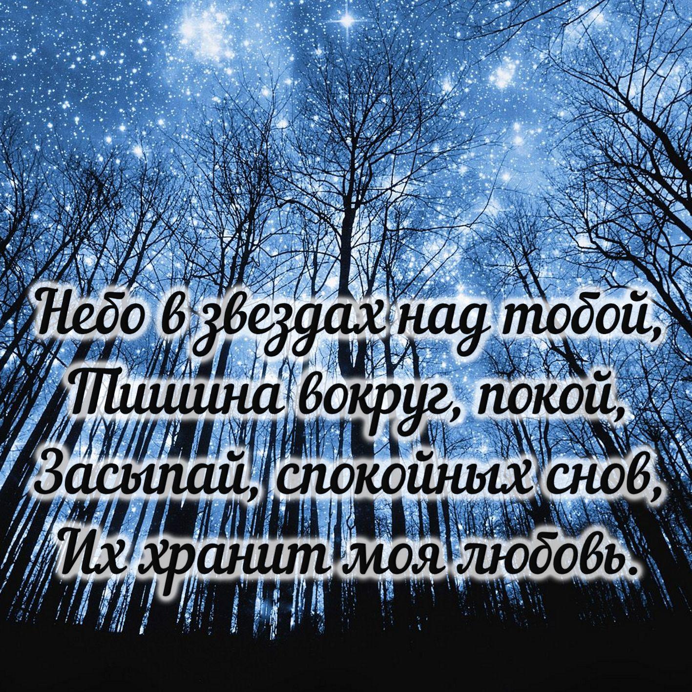 Доброй ночи и сладких снов!