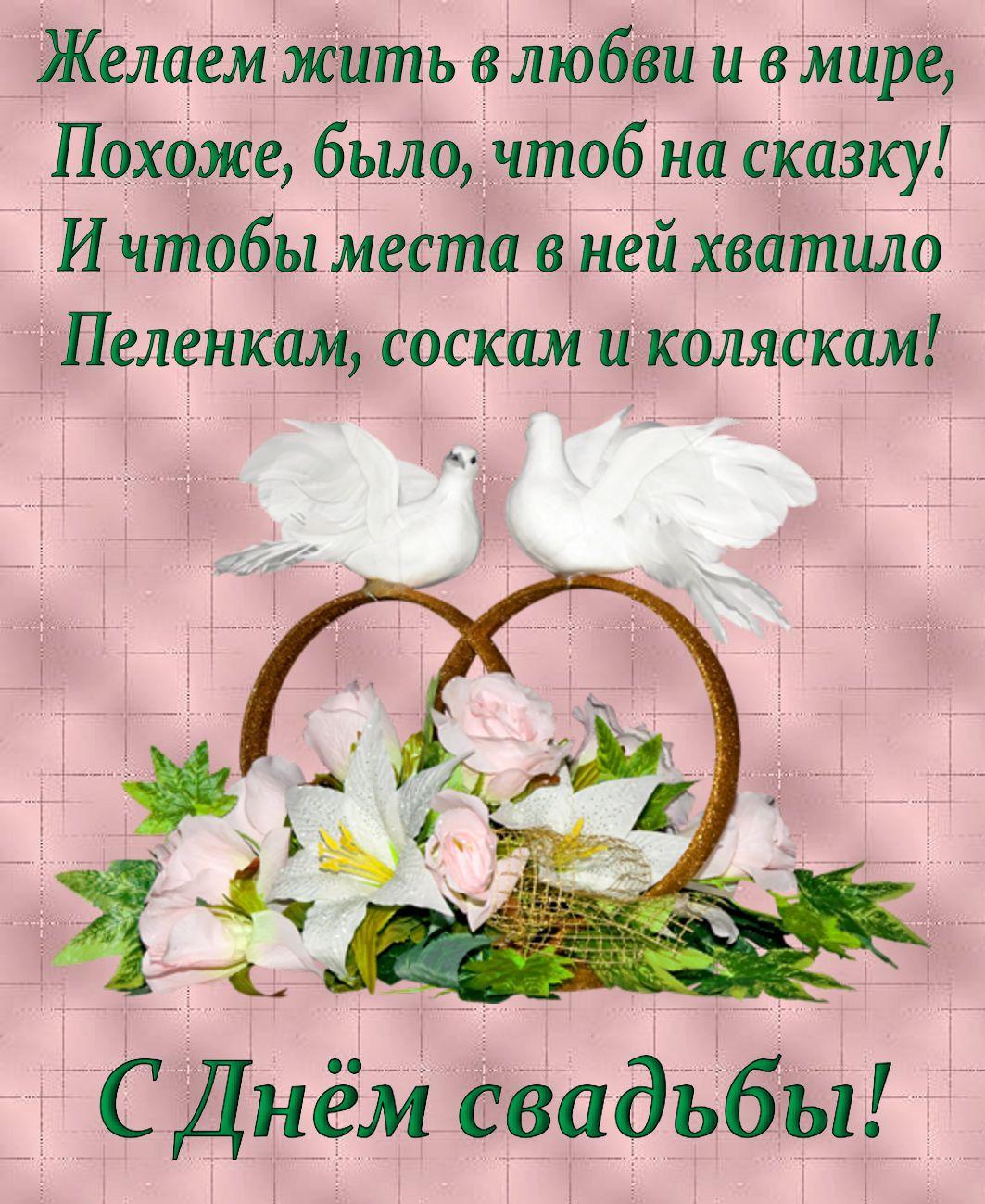 Открытки поздравления с днем свадьбы в красивых словах, днем рождения