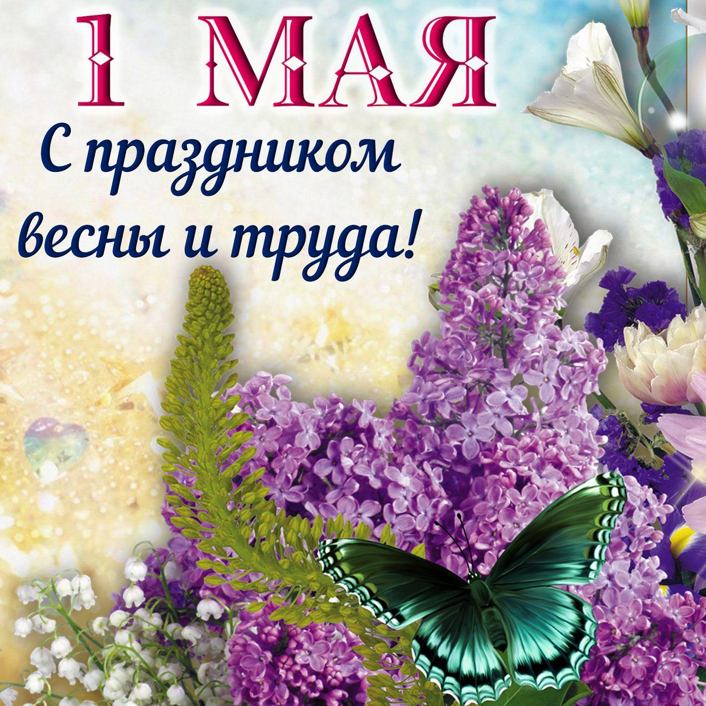 Фото открытки к 1 мая