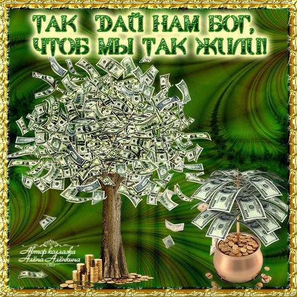 Денежное дерево поздравление в стихах