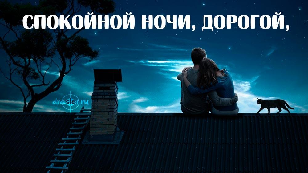 Картинки спокойной ночи мужчине на расстоянии прикольные серега