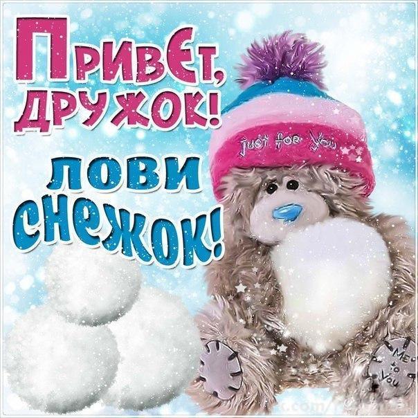 открытка тебе мой снежный привет объективы позволяют фотографировать