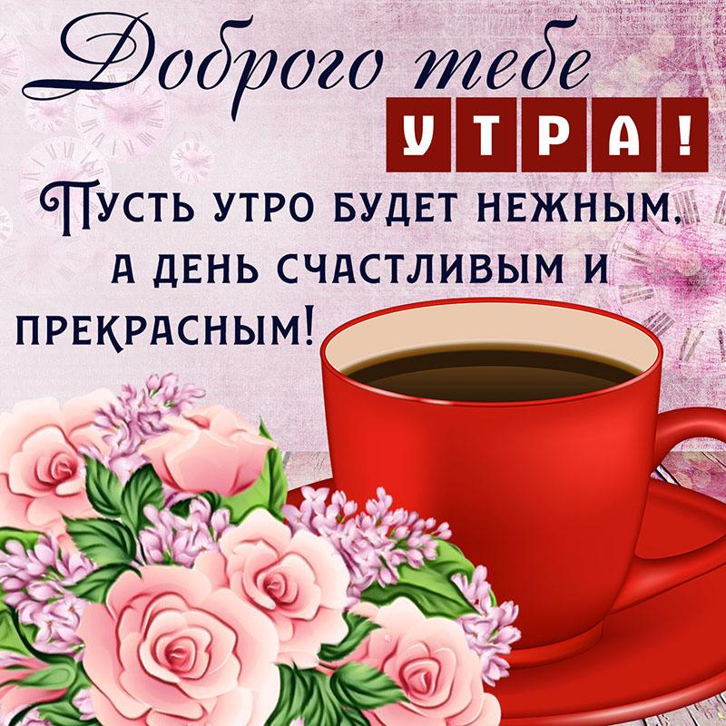 утренний поздравления и пожелания доброго дня в картинках