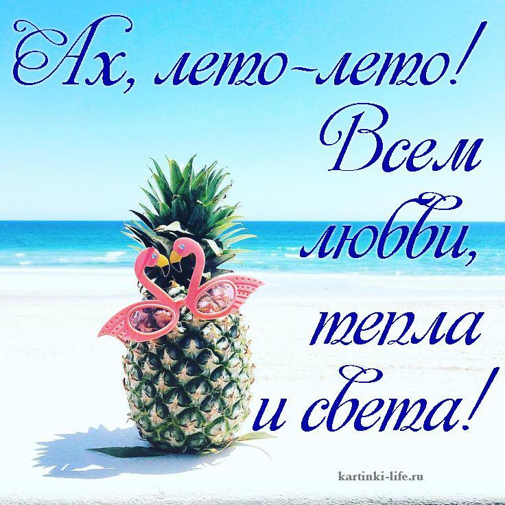 Ах, лето-лето! Всем любви, тепла и света!