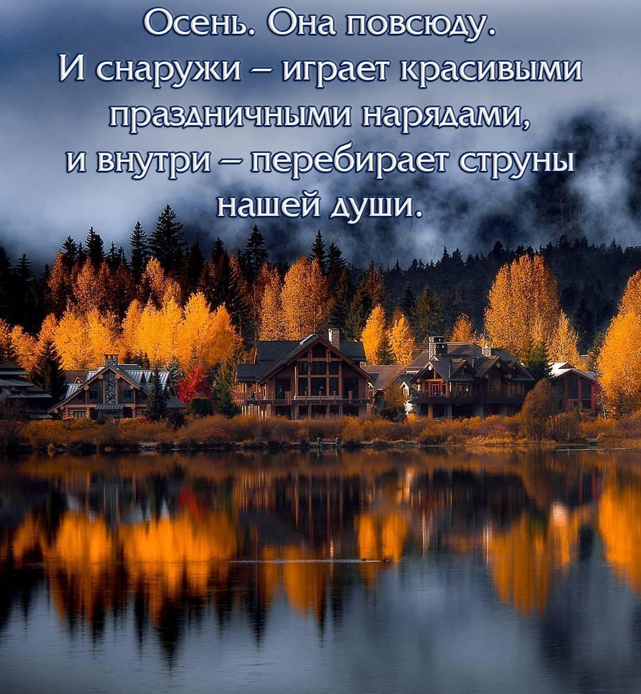 Осень. Она повсюду. И снаружи – играет красивыми праздничными нарядами, и внутри – перебирает струны нашей души.